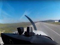 Decollo con l'aereo Villarrubi