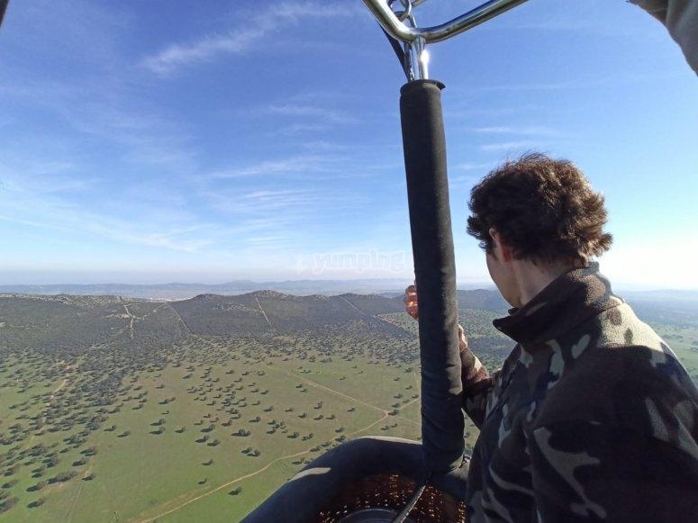In mongolfiera attraverso i mulini di Consuegra