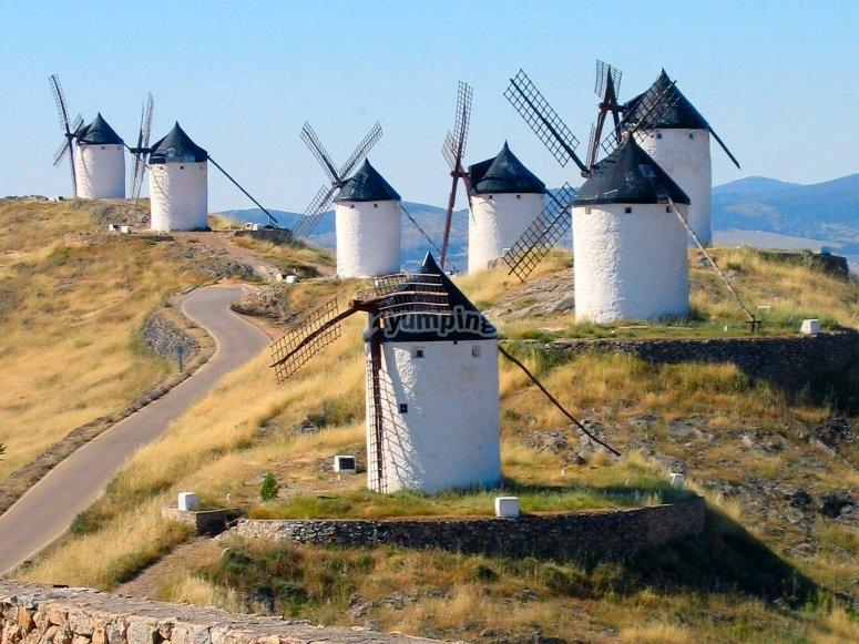I famosi mulini di Don Quijote