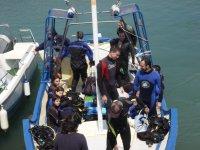 Antes de la inmersión