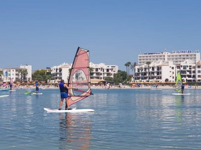 Windsurf course 5 days and free time in Alcudia