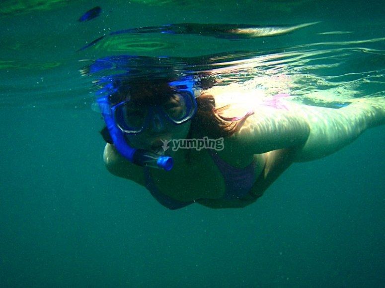 You will have time to snorkel and see the wonders underwater