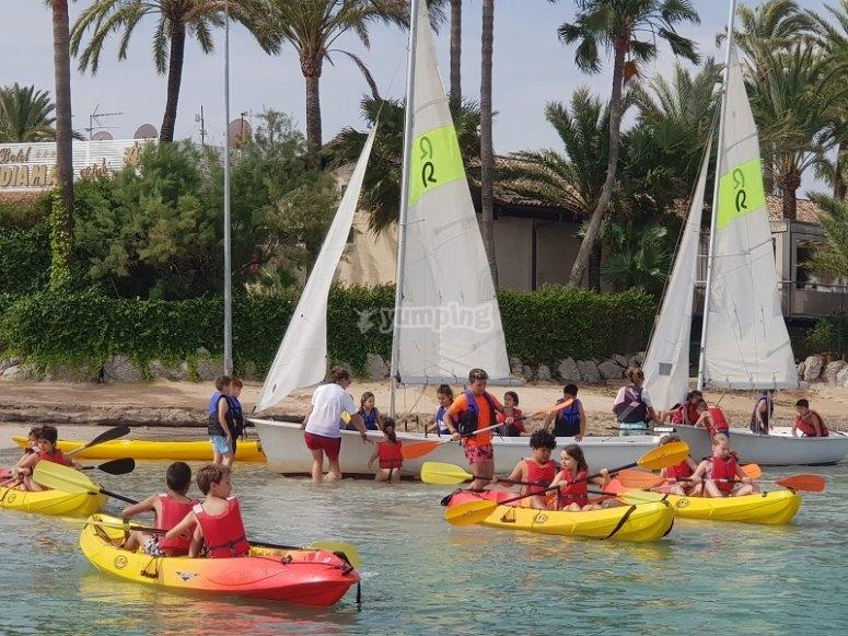 Kayak para dos personas en Alcúdia