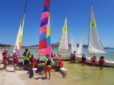 Alquiler catamarán hobie 2 o 3 personas Alcudia 1h