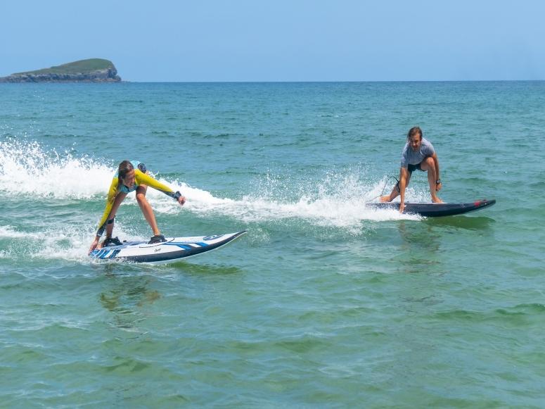 Surfeando con las tablas eléctricas