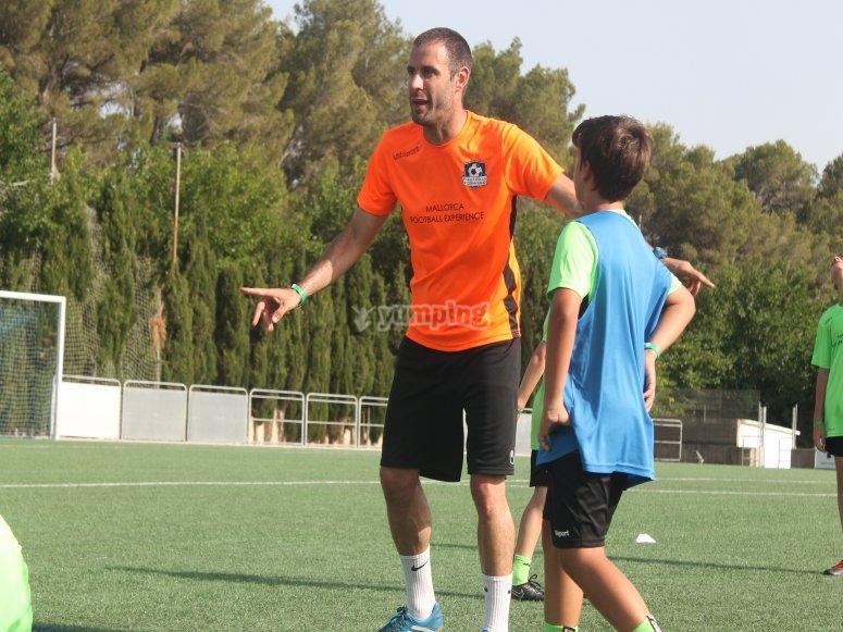 Durante el entrenamiento