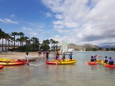 Campo estivo multiavventura della baia di Alcudia