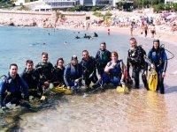 Open Water Curos in Tossa de Mar