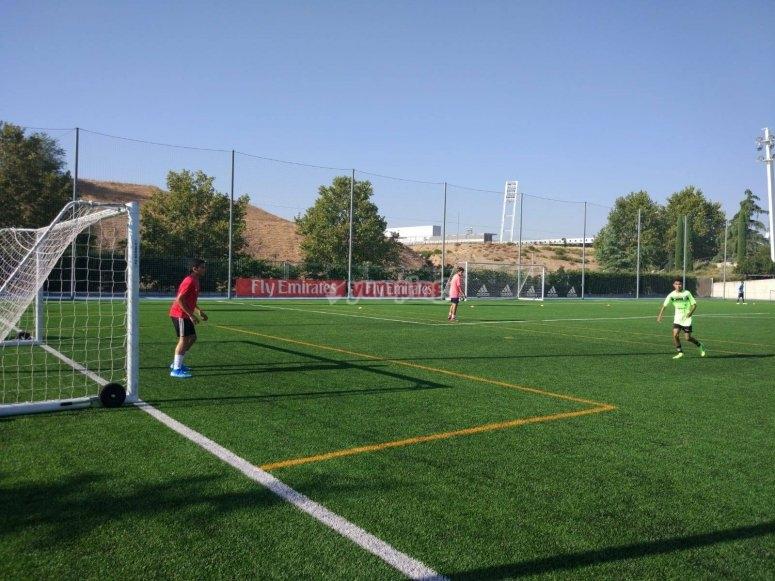 足球设施马德里