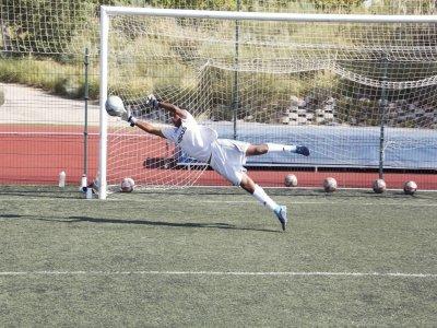 Summer camp for goalkeepers in Valdebebas