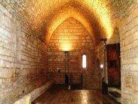 拉比斯巴尔D`Empordá教堂,中世纪城堡标志恩波达
