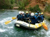 Descenso de rafting río Cabriel