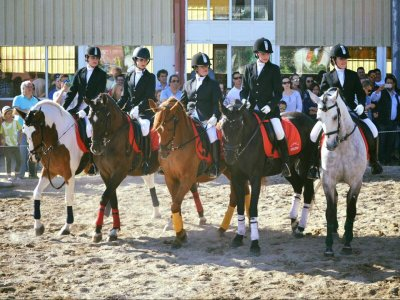 Horse riding lessons in Pontecaldelas 45 minutes