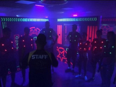 Laser tag and barbecue party in Tarajalillo 1 h