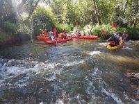 Discesa in canoa nella palude di Agueda 5h