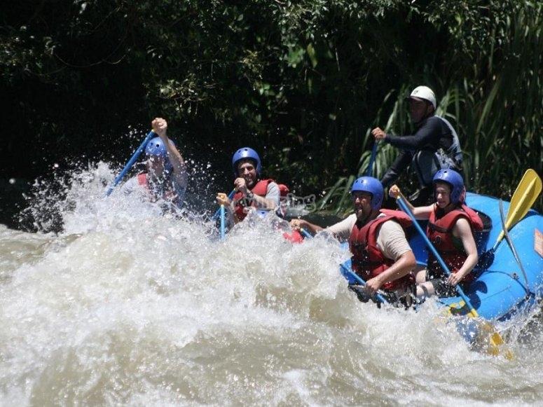 Remando por el río Ebro