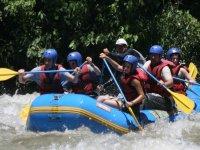 Rafting dalla foce del fiume Rudrón 3h30m