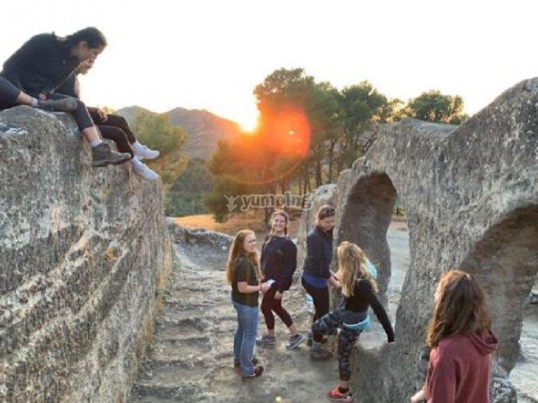 En las ruinas de Bobastro