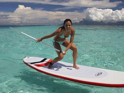 Kiteloop School Paddle Surf