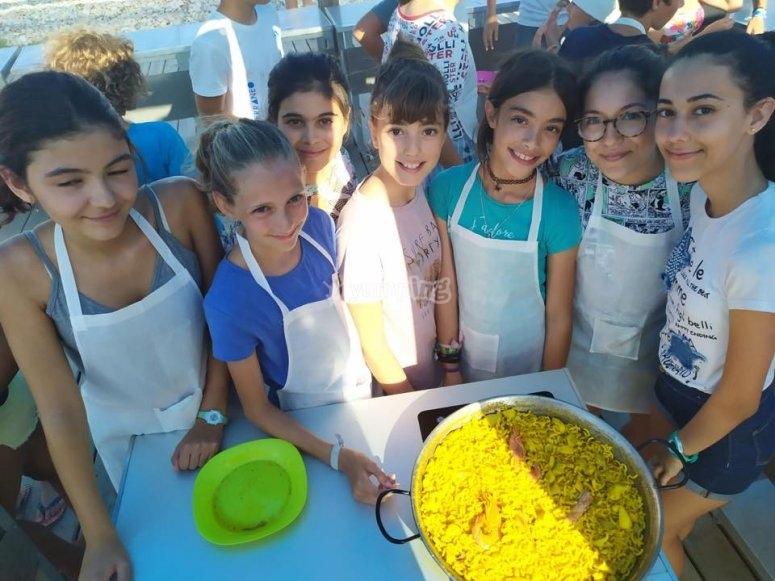 Master class de elaboración de paella