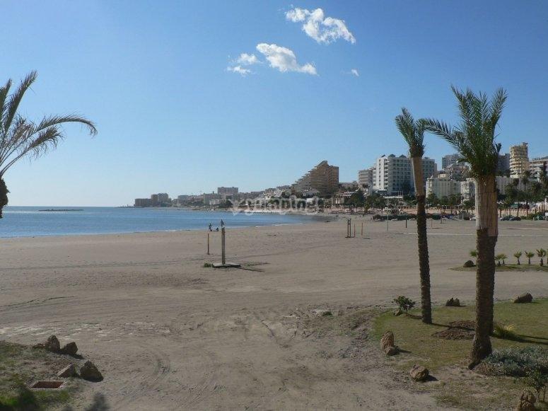 Playa en Benalmádena
