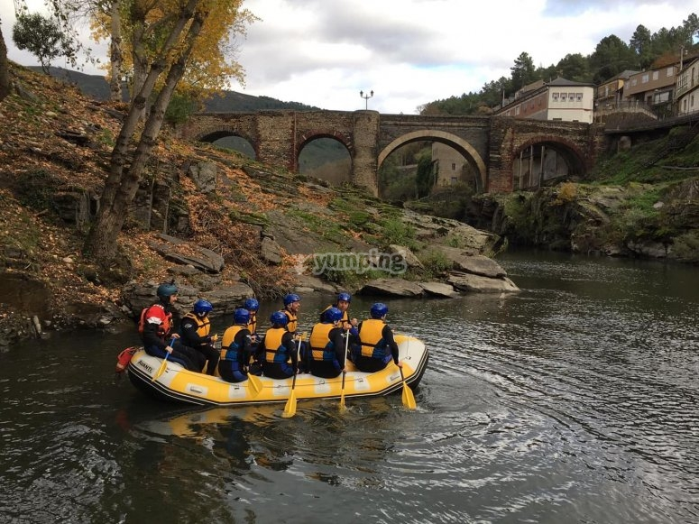 Rafting on the Sil River