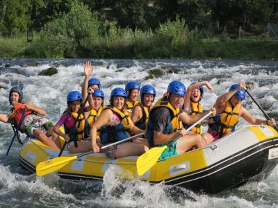 Rafting descent in El Bierzo 2 hours