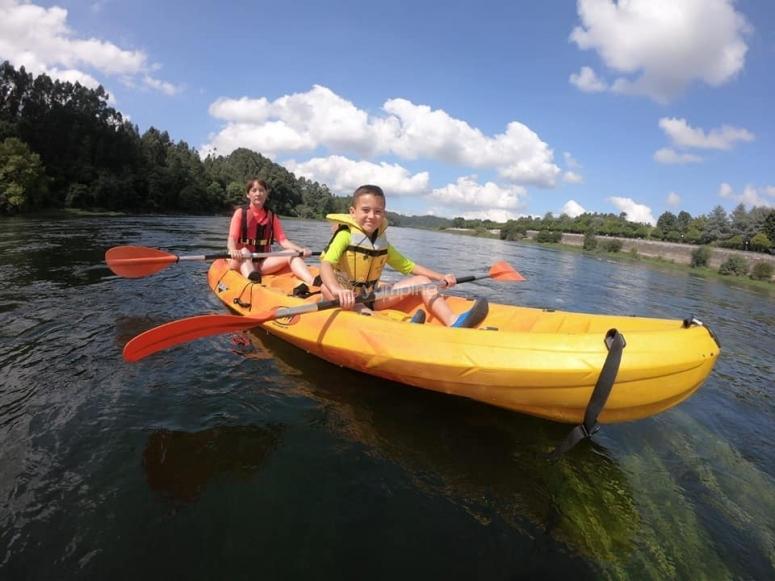 Discesa in canoa doppia Sil River