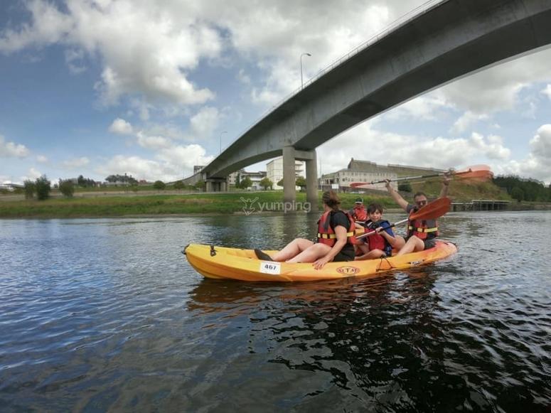 Percorso in canoa nella Bierzo