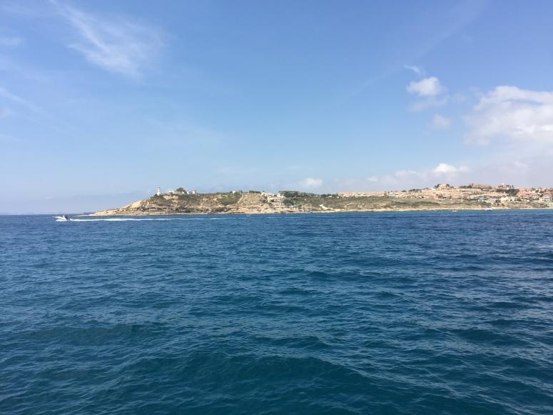 Vista de Cabo de la Huerta desde el Kaizen
