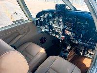 Avioneta Piper Interior