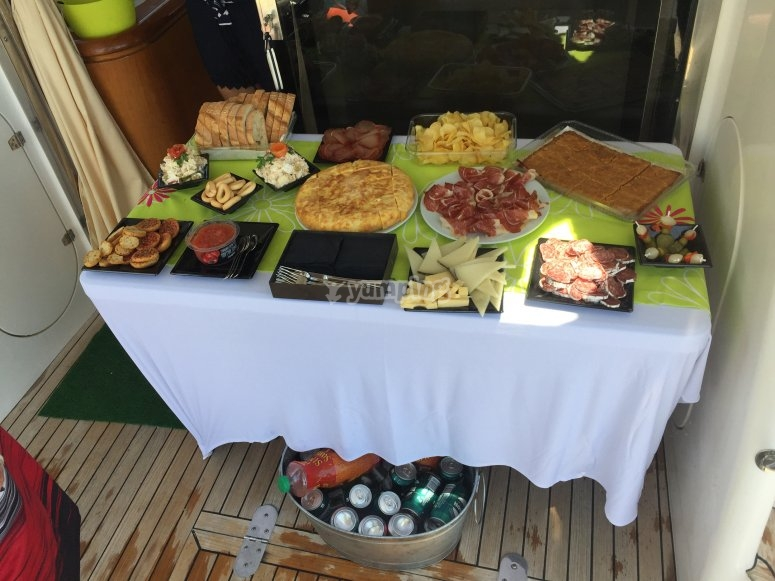 Catering experience spanish