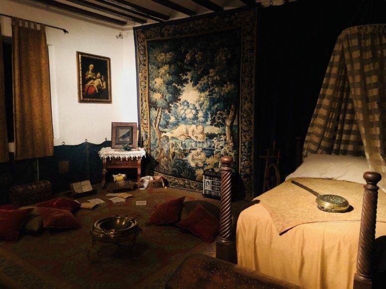 Habitación de la residencia de la doncella