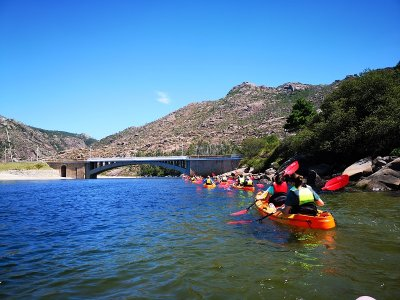 Double kayak rental in Monte Pindo 4 hours