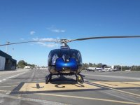 Preparazione dell'elicottero