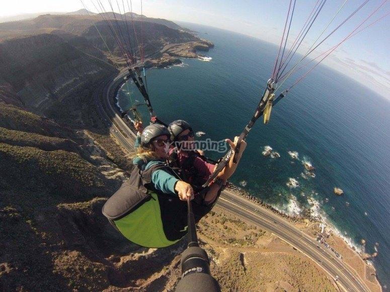 加那利群岛滑翔伞