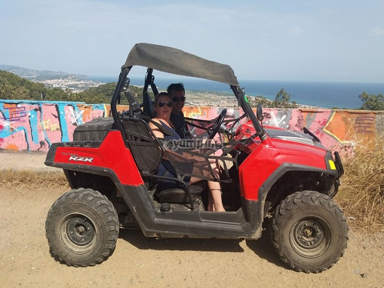 Buggy tour for two in Maresme