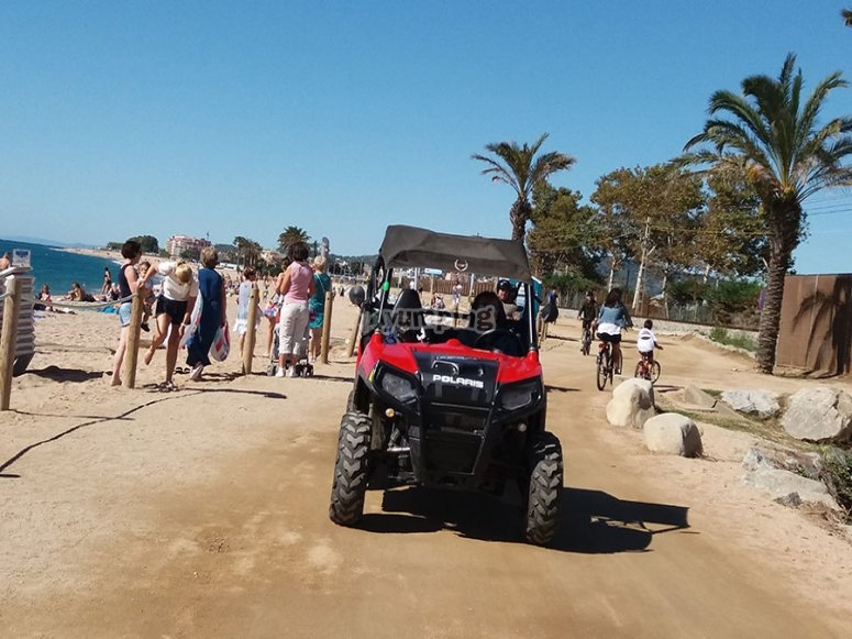 Tour en buggy privado playas del Maresme