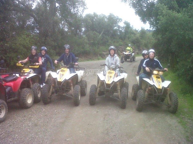 Tour privado en quad Montnegre