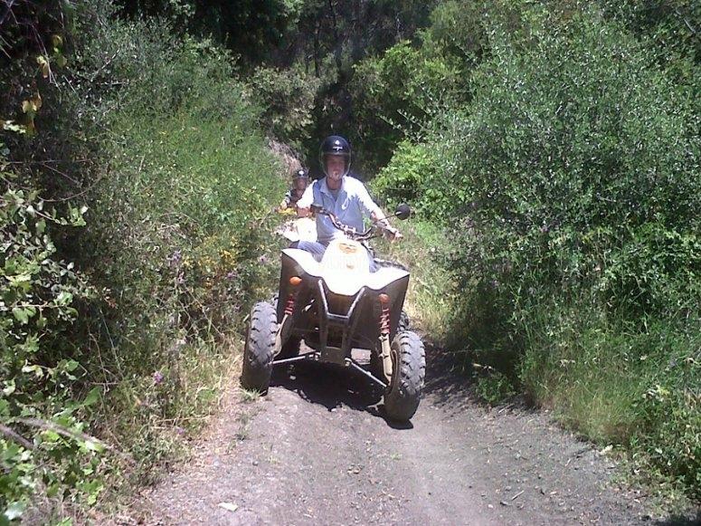 Ruta en quad por Montnegre