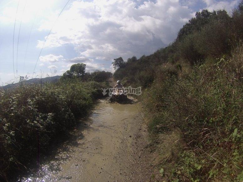 Paseo en quads todoterreno por Montnegre