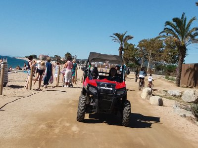 Tandem buggy tour of the Maresme 1 hour