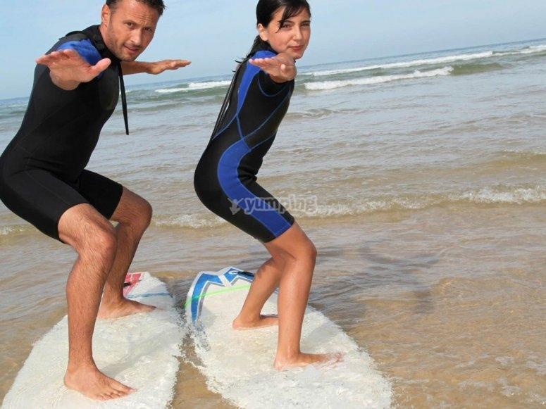 Clases de surf Loredo
