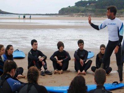 Surf camp a Loredo 8 giorni