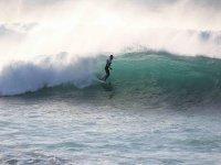 赶上最好的波浪