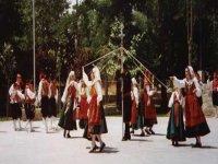 Baile típico de la zona