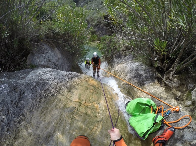 沿着Arroyo Majales峡谷