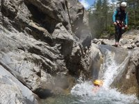 Canyoning ravines for events