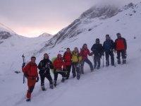 Caminar con raquetas de nieve en Asturias