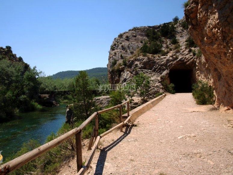 Hiking through Hoces de Cabriel